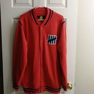Undefeated varsity jacket xl